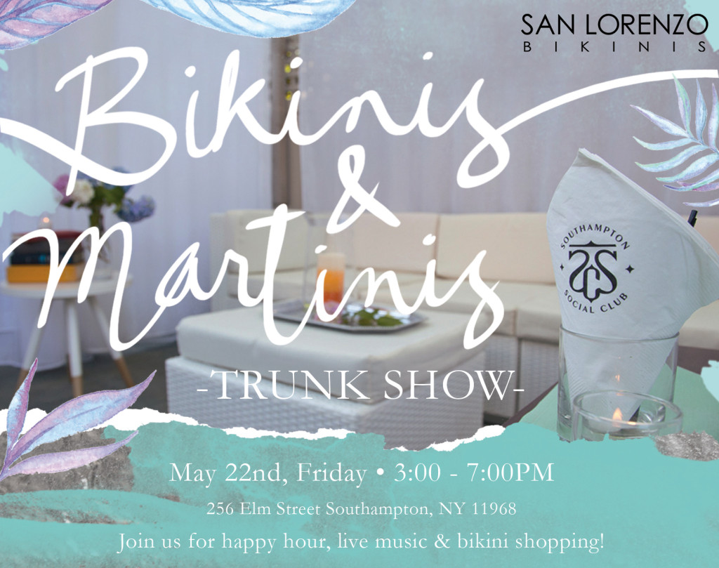 Bikinis & Martinis Trunk Show (Facebook)