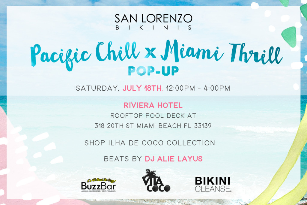 MIAMI POP UP SHOP (Facebook)